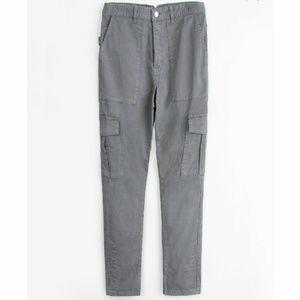 Zadig & Voltaire Pants - Zadig & Voltaire Eliot Carbone Cargo/Military Pant