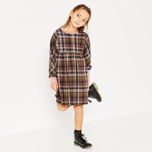 d5a34440 Zara kids checkered plaid dress nwt sz 5t. M_58af46b74127d073ce01dd24