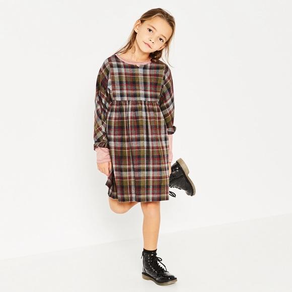 dee800d785 Zara kids checkered plaid dress nwt sz 5t. M_58af46b74127d073ce01dd24