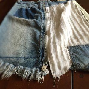 Maria Vazquez MVZ Dresses & Skirts - MVZ Deconstructed Skirt