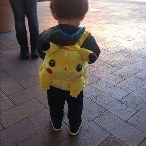 Pokemon Other - Plush Pokémon backpack.