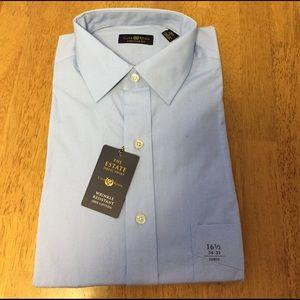 Club Room Other - 🆕 Men's The Estate Dress Shirt/Wrinkle Resistance