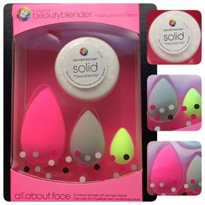 Other - All.about.face Limited Edition Beauty Blender Set