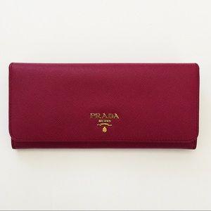 2a8bee6f66fe Prada Bags | Saffiano Ametista Wallet Authentic | Poshmark