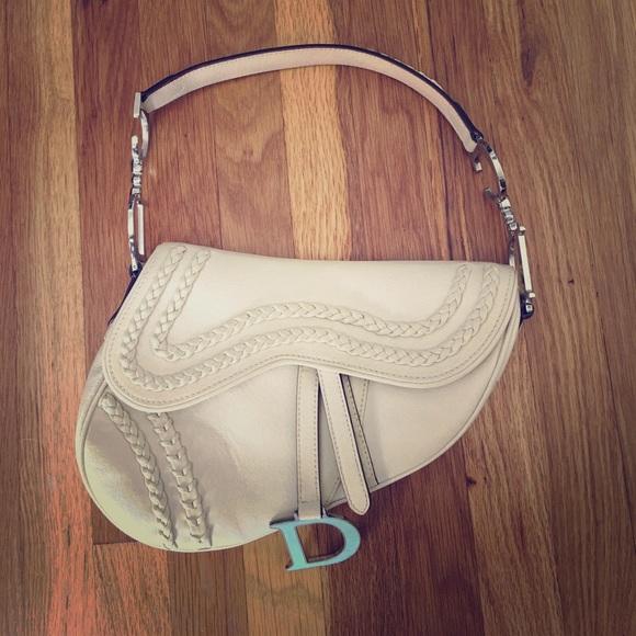Christian Dior Bags   Limited Edition Dior Saddle Bag   Poshmark 899b4a02d1