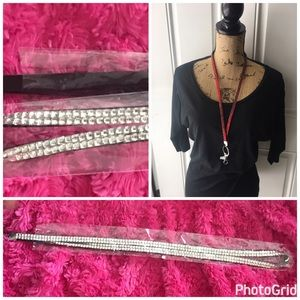 Accessories - rhinestones lanyard