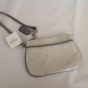 Coach Handbags - Small Coach Wristlet