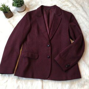 Oscar de la Renta Jackets & Blazers - Vintage Oscar de la Renta deep maroon blazer