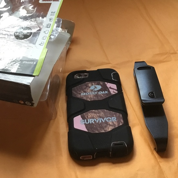 on sale 16290 7eaa4 Griffin Survivor Mossy Oak Case For iPhone 6/6s NWT