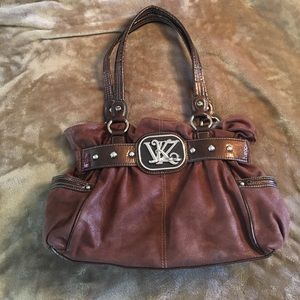 Kathy Van Zeeland Handbags - Chocolate Kathy Von Zeeland purse