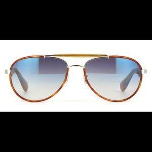 Oliver Peoples Accessories - Oliver People Unisex Aviator Sunglasses