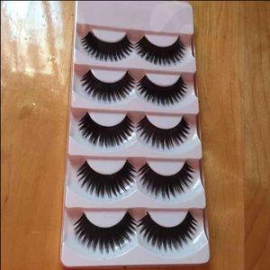 NEW 5 pairs glamorous dramatic eyelashes