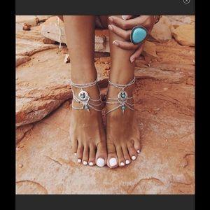 Brand new boho ankle jewelry