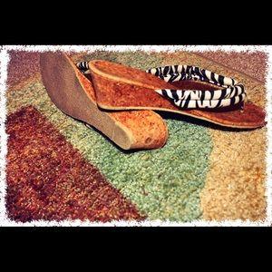 Shoes - Zebra wedge