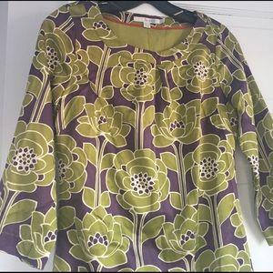 New Boden Modern Print Dress