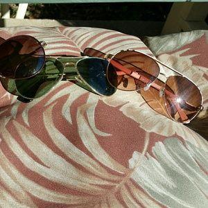 Steve Madden pink sunglasses