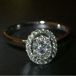 Kay Jewelers Jewelry - ‼️♥️18K white gold engagement ring.