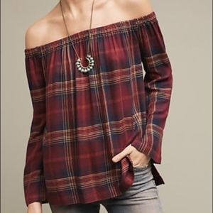 Homestead plaid blouse by Cloth and Stone