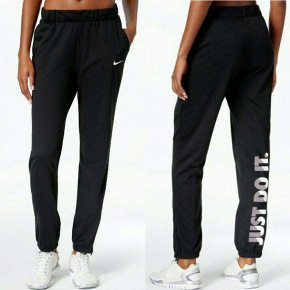 a6219716e15bc Nike Pants   Drifit Just Do It Lightweight Fleece   Poshmark