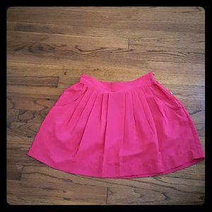 2xist Dresses & Skirts - Pink Pleated Mini Skirt NWT