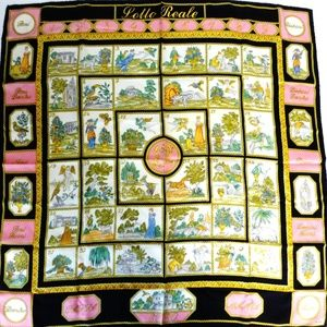 Etro Accessories - Etro Lotto Reale silk scarf 1991 collectors item