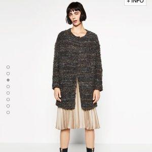 Zara Jackets & Blazers - 🆕Zara round neck coat