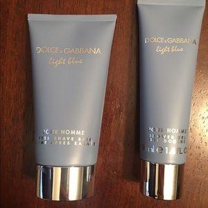 Dolce & Gabbana Other - 🔵New: Dolce&Gabbana Shave Balm + Shower Gel