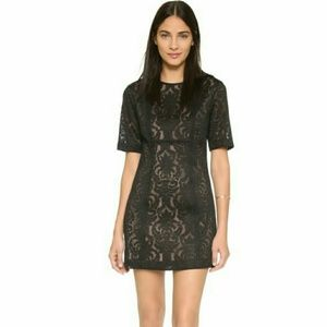 "BCBG MAXAZRIA ""CEARA"" black dress size 2"