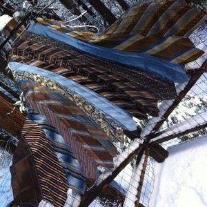 kreativekristen  Dresses & Skirts - HP ,Cali Boho Tie Skirt in browns and blues