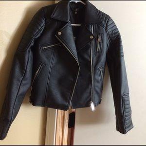 Missguided Jackets & Blazers - MissguidedLeather jacket size 0