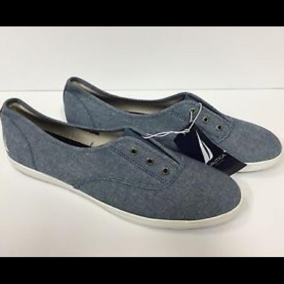 20ea63663992 Nautica Fiddley Sneakers   Slide-ons
