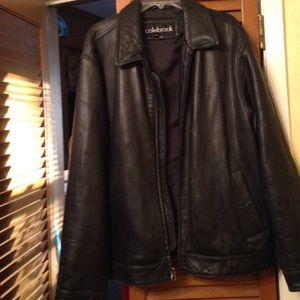 Men's Leather Jacket-Sz Large