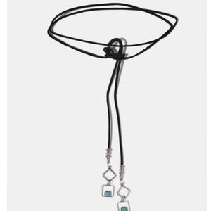 Jewelry - Submit Offer💕 Turquoise Stone Wrap Choker
