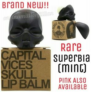 Other - 🎀 Skull Lip Balm - Unisex - 100% Natural