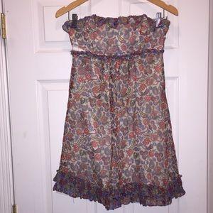 Betsy Johnson Size 6 Strapless dress