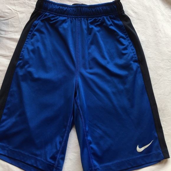 Nike Boy/'s Youth Basketball Athletic Shorts Blue Size S NWT