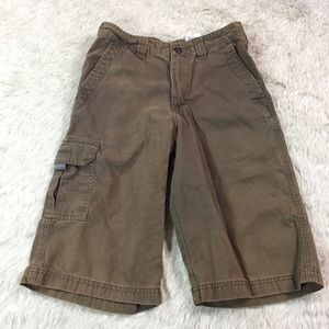 Columbia Other - Boys Columbia cargo shorts brown 16