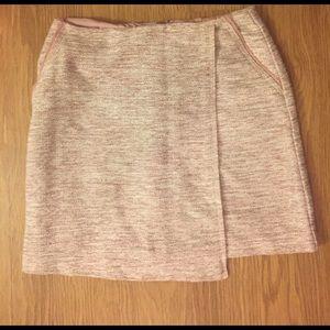 LOFT Dresses & Skirts - Loft pink tweed skirt