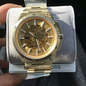 Michael Kors  Other - NWT Michael Kors Men's Automatic Skeleton Watch