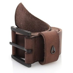 Nixon Other - Nixon full grain brown leather belt size medium
