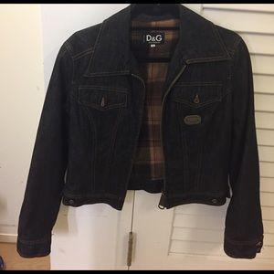 D&G Jackets & Blazers - D&G lined denim jacket