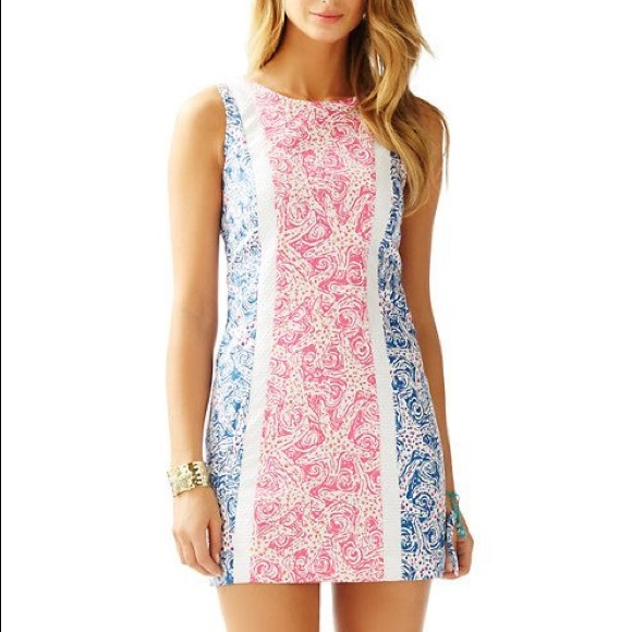 029d6dae2d8f2d Lilly Pulitzer Dresses & Skirts - Lilly Pulitzer Delia Shift Dress
