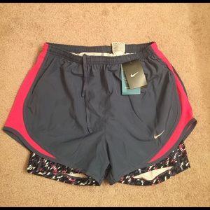 Nike Pants - NWT women's size medium Nike running shorts
