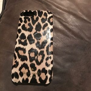 iPhone 5 Kate Spade leopard cheetah case