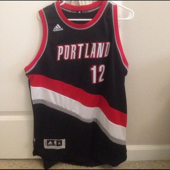 new style f1345 e4426 Portland Trail Blazers jersey, 12, Aldridge. Adidas.  M 58af8a0cc284560efc002128. M 58af8a0e13302a611a001c97.  M 59f27097620ff709fb003225