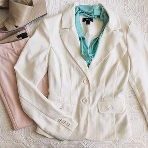 BCX Jackets & Blazers - BCX White Blazer