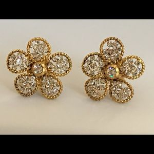 Vintage authentic 1983 Chanel Couture Earrings
