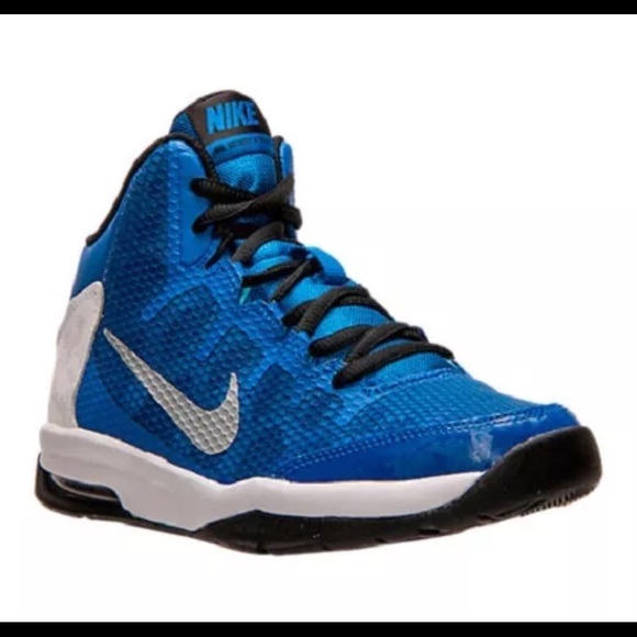 51c6ae120a8ec Nib boys Nike air without doubt basketball shoe 7
