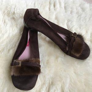AGL Shoes - AGL brown suede shoes • super cute vintage look!
