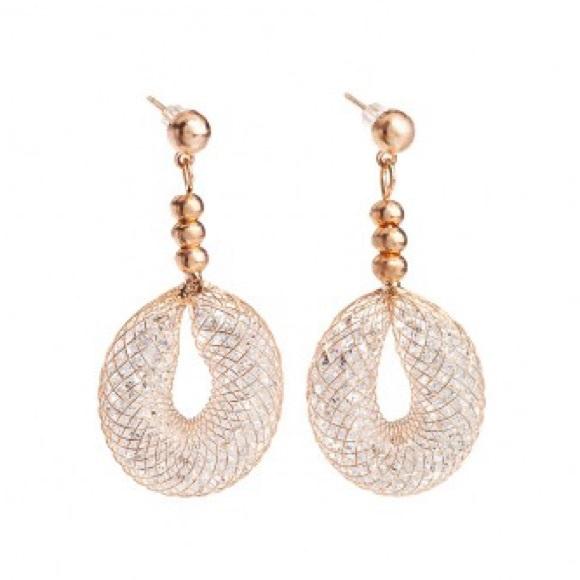 6e83cbc4b Jimmy Crystal Jewelry | Goldsilver Plated Earrings | Poshmark